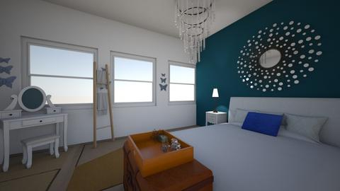 Palladian Blue - Feminine - Bedroom  - by Pupperoni10