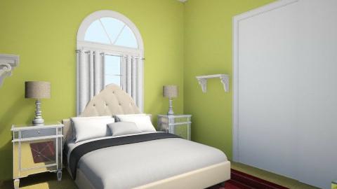 Katherines bedroom_best - Glamour - Bedroom - by pugliesepugliese