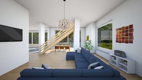 STAIRY EYESIGHT - Classic - Living room  - by Oyisha