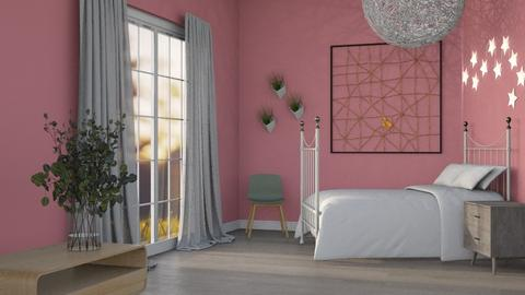 p i p e r - Vintage - Bedroom  - by kanrxji