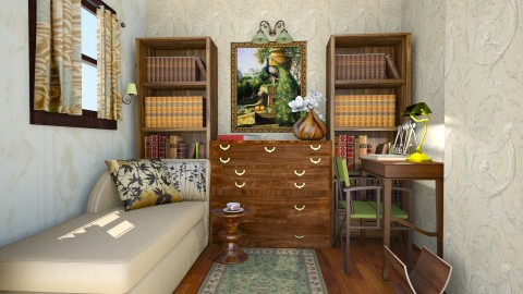 study-old look - Classic - Office  - by liling