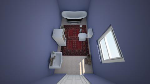 Bathroom 1_1 - Minimal - Bathroom  - by gabbykay