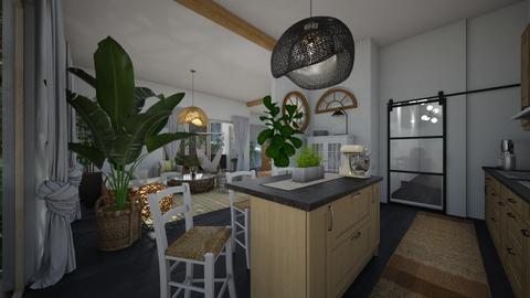 Nature_kitchen - Kitchen  - by lovasemoke
