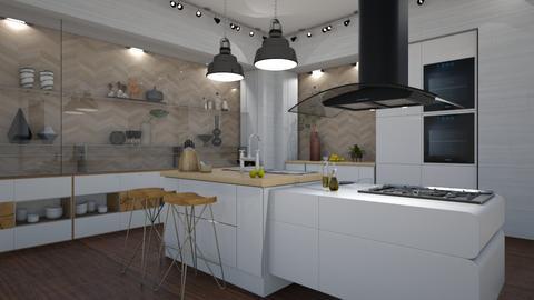 Contemporary Kitchen - Kitchen - by JarkaK