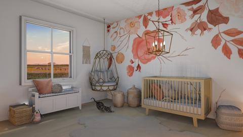 whimsical nursery - Kids room  - by elia07