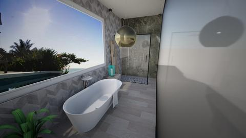 LSD Project WC 2 Final - Glamour - Bathroom  - by Medina Touch