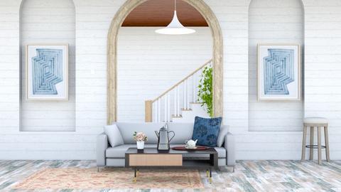 w - Rustic - Living room  - by marielisa_32_32