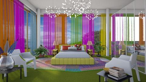 Summery Bedroom - Modern - Bedroom  - by 3rdfloor