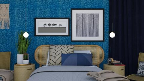 Blue Night - Classic - Bedroom  - by HenkRetro1960