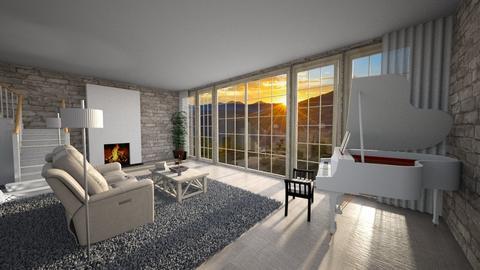 Good Morning - Living room  - by snowbear365