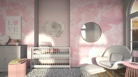 little angel - Feminine - Kids room  - by jjannnii