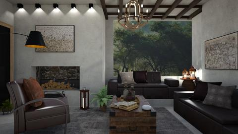 M_Raw - Living room  - by milyca8
