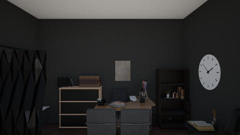 Boss Room - Masculine - Office  - by donnyhery