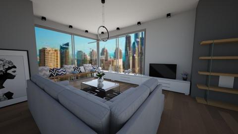 Modern living room - Modern - Living room - by Zosia Zakrzowska
