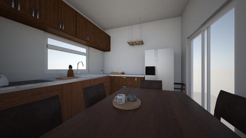 Kitchen coming right up - Kitchen  - by makatova