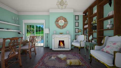 Old fashioned - Classic - Living room  - by Laurika
