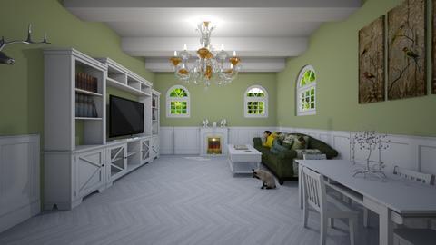 salon americano - Vintage - Living room  - by alphacenter
