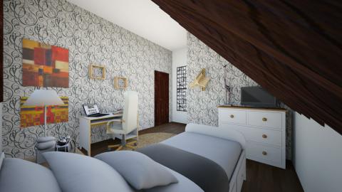 Roof Bedroom - Bedroom - by Vangjel