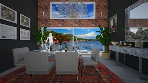 Auburn - Living room - by VeroDale
