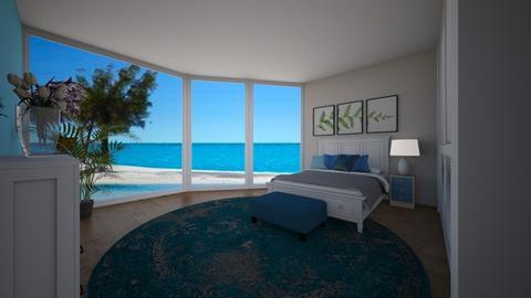 Summer Beach Bedroom - Global - Bedroom  - by Camila_Chaos