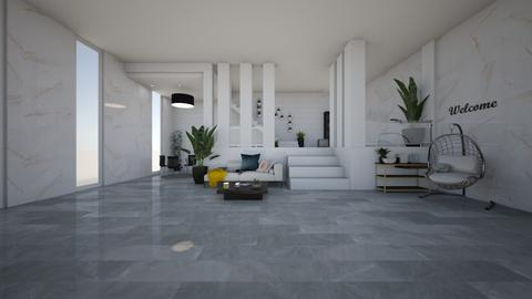 House - Living room  - by Arianna1000