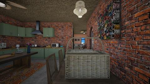 Design 24 FAMILY FARM  - Kitchen - by michellitamuralles