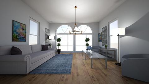 Symmetry Living Room - Living room  - by Kate Home