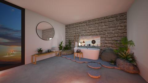 Tropical bathroom - Bathroom  - by BettyMalaga