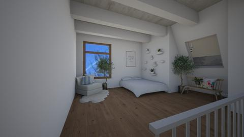 attic 2 - Bedroom - by ryliecyoung