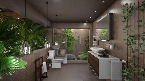 my green bathroom  - Bathroom  - by Ida Dzanovic