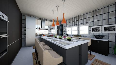 eclectic kitchen - Kitchen - by Lizagie