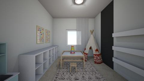 Noa Ashkenazi 6 - Kids room  - by erlichroni
