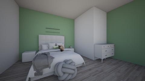 Chambre 1 - Modern - Bedroom  - by emmadesignss