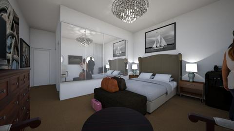 Cruise Ship Cabin 2 - Bedroom - by SammyJPili
