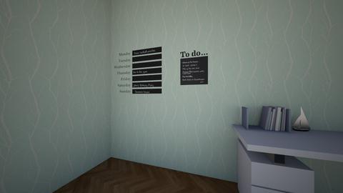 Poppys Office - Office - by Flowery2007