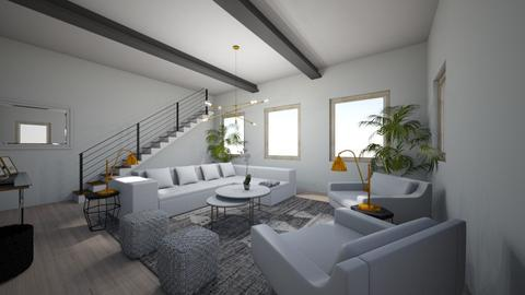 Modern Living Room - Living room  - by austinlivingco