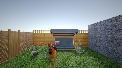 my dream garden - Modern - Garden  - by Pamela Jones