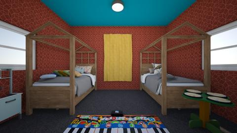 Friday Challenge 4 - Kids room  - by Messa03