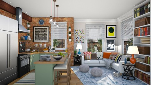 Lexington - Eclectic - Living room  - by j_sm