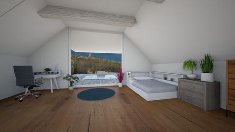 Attic - Bedroom  - by Celia_123