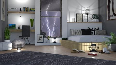 Stormy Night - Bedroom  - by LB1981