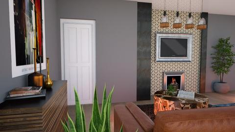 andys living rm - Modern - Living room - by Mark T