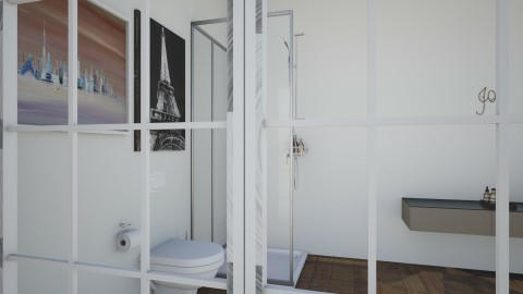 beast mode - Modern - Bathroom  - by man man