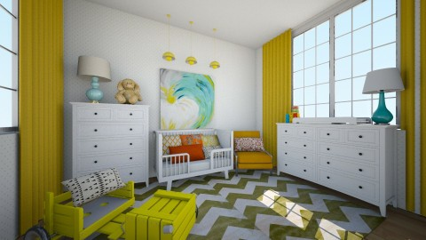 baby - Kids room - by annegonzalez