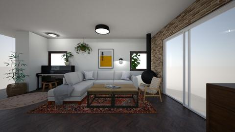 Limor Weissbard 54 - Living room  - by erlichroni