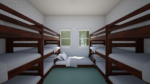 Summer Camp Cabin for 13b - Bedroom  - by SammyJPili