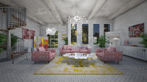 THE GIRLY GIRL PAD - Feminine - Living room - by RS Designs