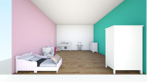 the rom - Kids room - by Nunu Triate