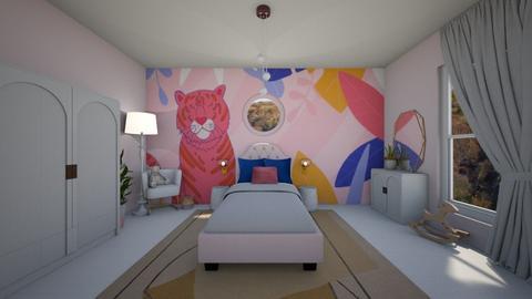 Blush Kids Room - Modern - Bedroom  - by KylaTH