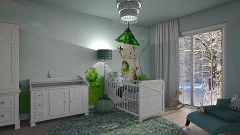 sweet dream - Kids room  - by bohdalkovakata